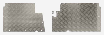 Chequer Floor Plates - 5 Bar