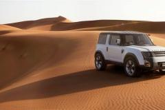 Dubai Front 3/4, Rear 3/4, Profile Dunes