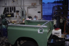 Land-Rover-Series-IIA-Day-100-Galvanized-Trim-Installed-1