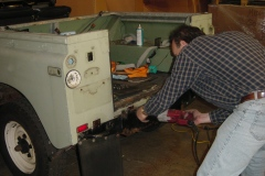 Land-Rover-Series-IIA-Day3-Read-Bed-Removal-4