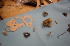 Land-Rover-Series-IIA-Day-53-Carb-Rebuilt-Bulkhead-Installed-12