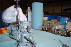 Land-Rover-Series-IIA-Day-53-Carb-Rebuilt-Bulkhead-Installed-3