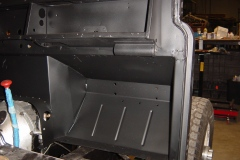 Land-Rover-Series-IIA-Day-53-Carb-Rebuilt-Bulkhead-Installed-30