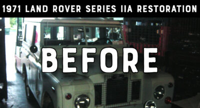 1971 Land Rover Series IIA - Before Restoration