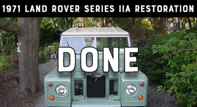 1971 Land Rover Series IIA - Finished Restoration